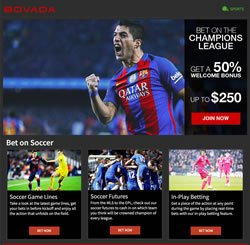 Bovada Soccer Betting