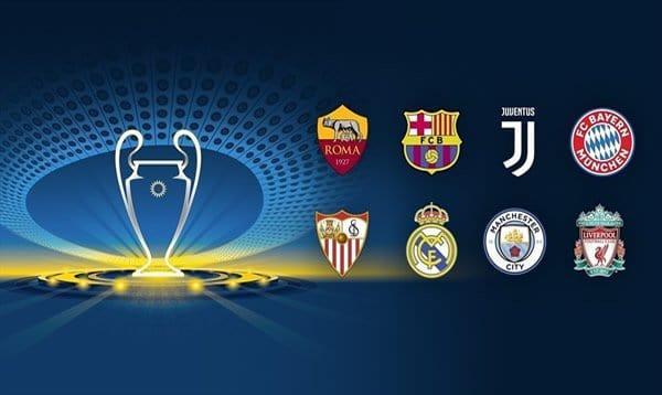 2018 Champions League quarterfinals