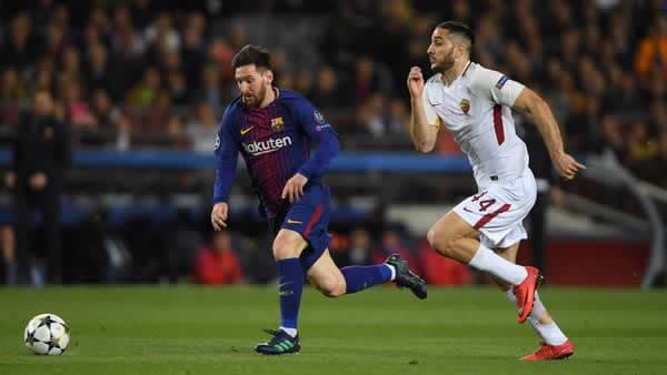 Barcelona vs Roma UEFA 2018
